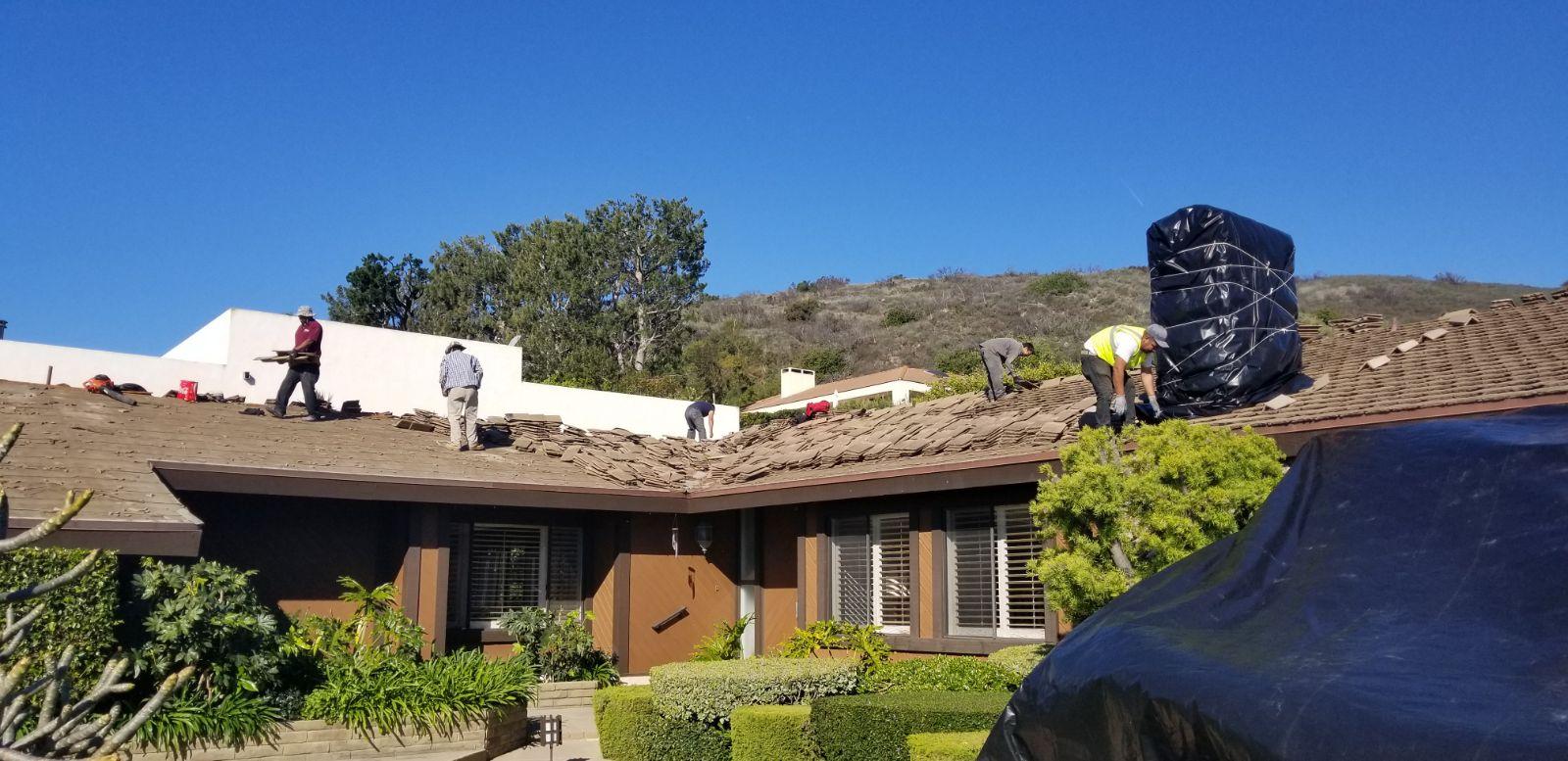 Re-Roof Malibu,ca